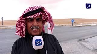 مطالب بإعادة تأهيل طريق ثغرة الجب في المفرق (22-4-2019)