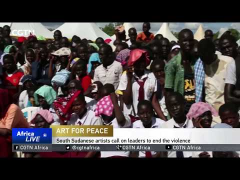 South Sudanese artists call on leaders to end the violence