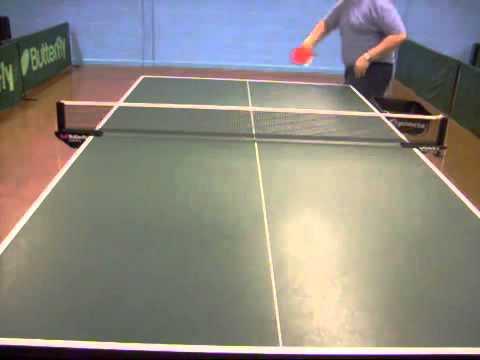 10 cách phát bóng xoáy trong bóng bàn