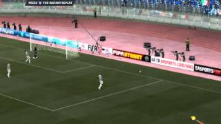Fifa 12 PC Italy Vs France HD Half 1 Ep. 2