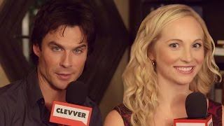 The Vampire Diaries Cast Reminices Over Their Favorite Scenes  WTF Moments From All 8 Seasons
