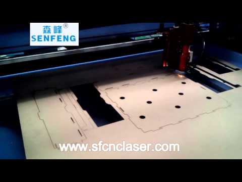 MDF laser cut for the box -Senfeng