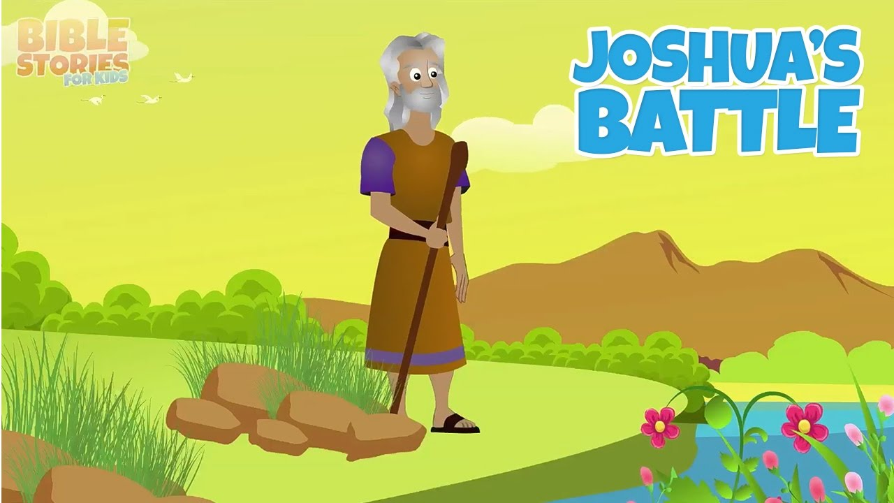 joshua and the king of jericho bible stories for kids youtube