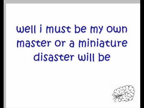 KT Tunstall miniature disasters lyrics