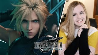 Final Fantasy 7 Remake Opening Movie Reaction   Suzy Lu Reacts