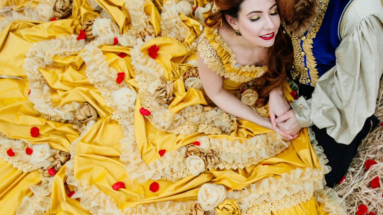 BEAUTY and the BEAST DRESS! - Belle Gown - Couture Cosplay by ...