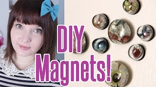 EASY & CHEAP DIY! How To Make Your Own Magnets
