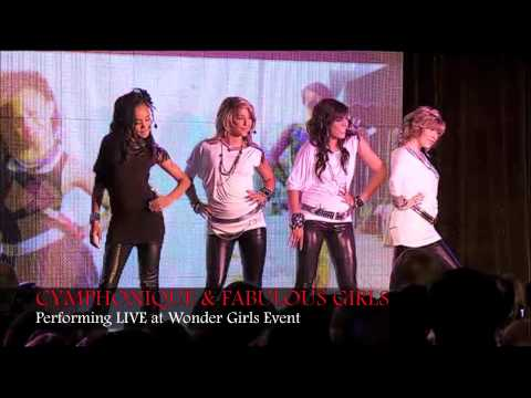 CYMPHONIQUE & FABULOUS GIRLS Performing LIVE