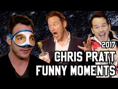 CHRIS PRATT FUNNY MOMENTS   Guardians of the Galaxy Vol 2