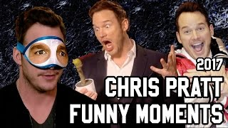 CHRIS PRATT FUNNY MOMENTS 2017 | Guardians of the Galaxy Vol. 2