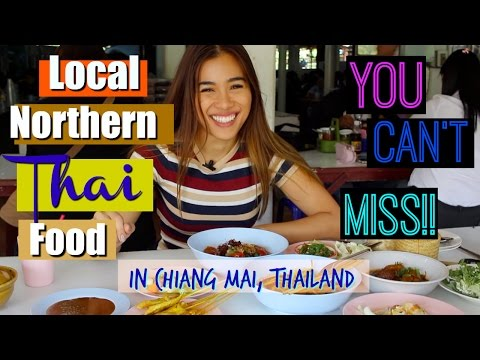 Best local Northern Thai food in Chiang Mai, Thailand