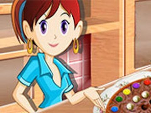 Pizza de chocolate juegos de cocina con sara youtube - Juegos de cocina con sara paella ...
