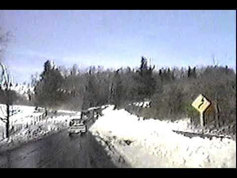 Boone North Carolina Hwy 421 Blizzard Of 1993 Youtube
