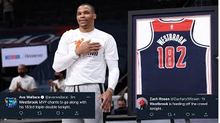NBA WORLD REACTS TO WIZARDS WIN OVER THE CAVS! Westbrook Drops 21-17-12