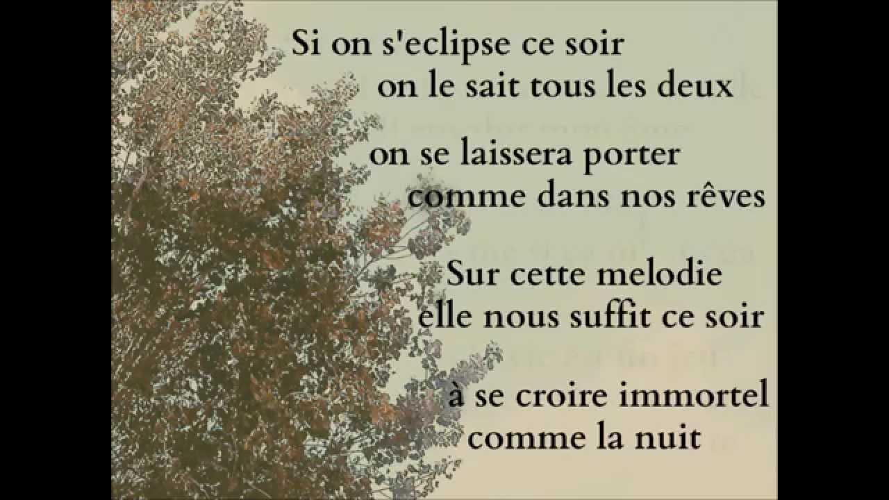 Sean Lennon & Matthieu Chédid - L' Eclipse (lyrics)
