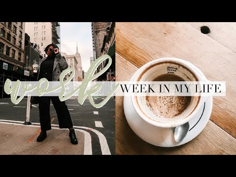 WORK WEEK IN MY LIFE | NYU GRADUATE STUDENT | WORKING 9-5 IN NYC