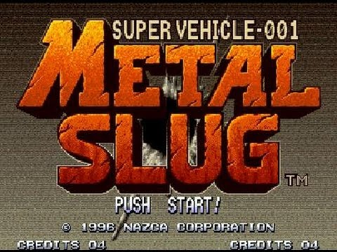 METAL SLUG 1 GAMEPLAY COMPLETO CO-OP