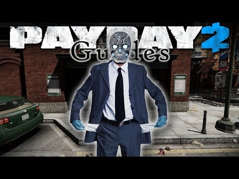 PAYDAY 2 Your First Heist! Bank Heist: Cash (Solo Stealth Beginner Guide)