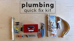 Plumbing Emergency Kit - Everyone should have these 14 items handy!