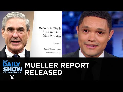 Trevor Noah Likens the Mueller Report to Maroon 5's Tattooed Frontman