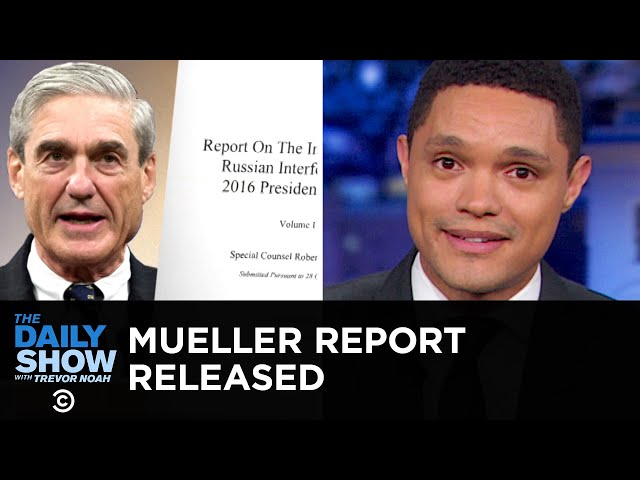 The Mueller Report: Reading Between the Redacted Lines | The Daily Show