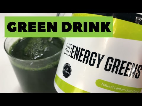 BioEnergy Greens Daily Essential Nutrients Drink Mix by Anthony Robbins Review