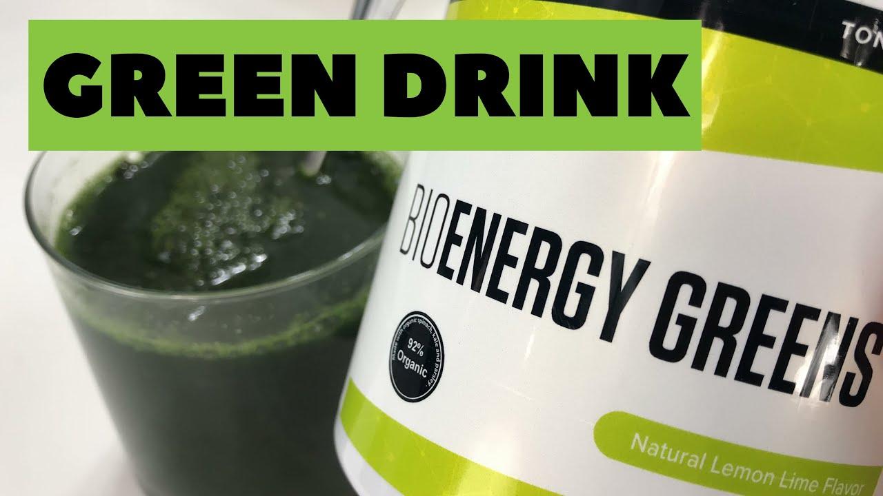 Anthony Robbins Green Drink
