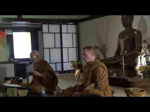 Ajaan Geoff @ PFOD - Day #2, Saturday 10/28/17 Dhamma Talk Part 1
