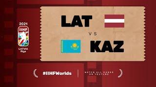 Highlights: LATVIA vs KAZAKHSTAN | 2021 #IIHFWorlds