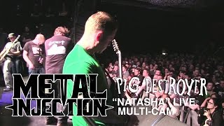"PIG DESTROYER ""Natasha"" Exclusive Live at TEMPLES FEST 
