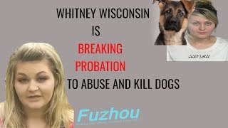 Whitney Wisconsin is Breaking Her Probation And Doing Disgusting Things
