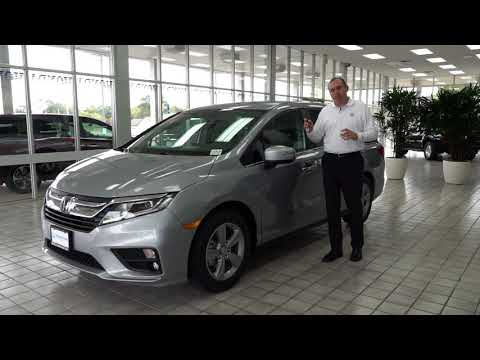 2018 Honda Odyssey EX-L 4d Passenger Van with Navigation | Brilliance Honda