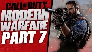 "Call of Duty Modern Warfare Gameplay Walkthrough Part 7 -  ""Into the Furnace"" (Let's Play)"