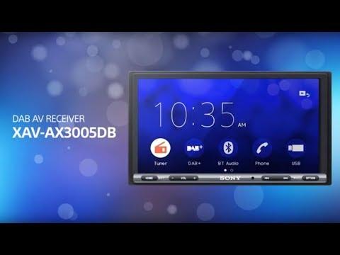 Sony XAV-AX3005DB Apple