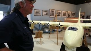"Kermit Weeks -  ""Howard Hughes Exhibit Visit"""