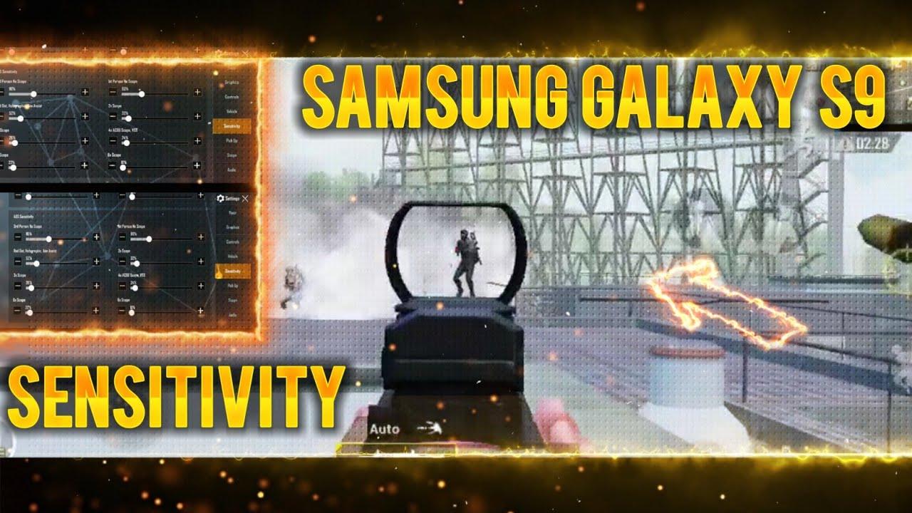 1v 4 Moments || Samsung S9 Sensitivity + Settings || PUBG Mobile