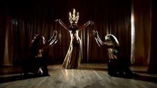 Танец с канделябром - вариация шоу-балет Марракеш Днепропетровск
