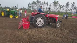 छठा मुकाबला  जॉन डियर और मेसी किसान भाइयों जबरदस्त मुकाबला है कौन जीता लाइक करें