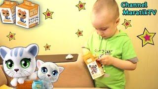Пушистики Котята 2 серия \ Sweet Box Коробочки Сюрпризы.Fluffy Kittens 2. Sweet Box Surprises Boxes.