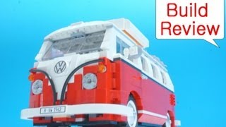 레고 캠퍼밴 Lego 10220 Volkswagen T1 Camper Van - Car Toys Build Review