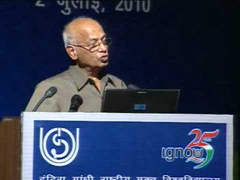The 15th G. Ram Reddy Memorial Lecture