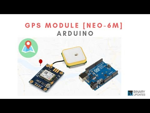 GPS Module With Arduino- Ublox NEO-6M