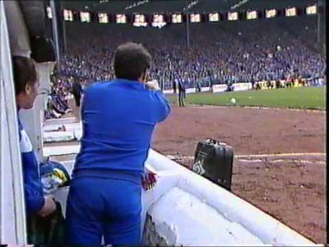 Rangers fans sing Derrys Walls Hampden 1983