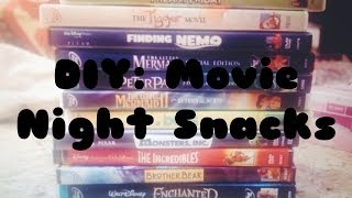 DIY: movie night snacks at home!!!! Thumbnail
