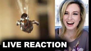 Ant-Man & The Wasp Trailer 2 REACTION