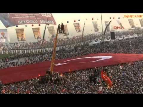 Başbakan Tayyip Erdoğan İstanbul Yenikapı mitingi konuşması 23 mart 2014