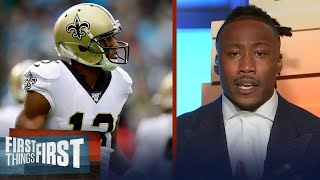 Brandon Marshall talks Saints & Michael Thomas as the 2020 NFL season continues | FIRST THINGS FIRST