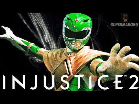 The Green Power Ranger Atom! - Injustice 2 'Atom' Gameplay (Online Ranked)