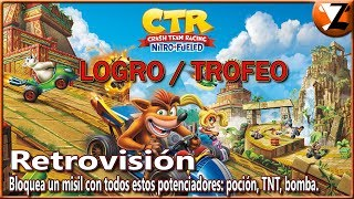 Crash Team Racing Nitro-Fueled: Logro / Trofeo Retrovisión (Rear-viewed)