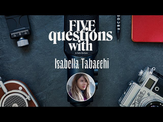 5 Questions with … Isabella Tabacchi
